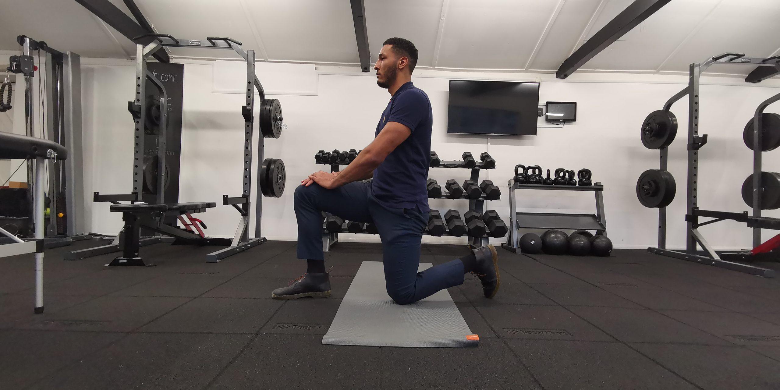 Hip Flexor Stretch Alternative